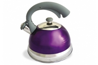 Чайник стальной (2.5 л, фиолетовый) TimA, Россия