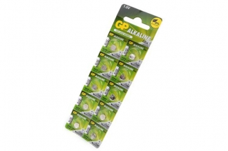 Батарейка часовая Alkaline cell 177-2C10 AG4 BL10, GP Batteries