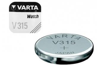 Батарейка серебряно-цинковая часовая 315, Varta