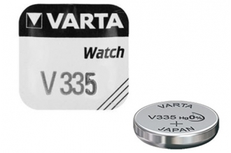 Батарейка серебряно-цинковая часовая 335, Varta