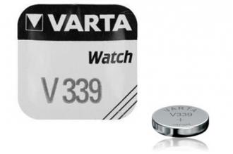 Батарейка серебряно-цинковая часовая 339, Varta