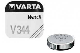 Батарейка серебряно-цинковая часовая 344, Varta