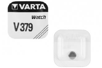 Батарейка серебряно-цинковая часовая 379, Varta
