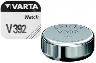 Батарейка серебряно-цинковая часовая 392, Varta