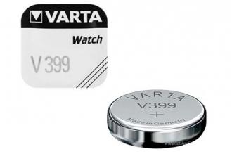 Батарейка серебряно-цинковая часовая 399, Varta