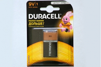 Батарейка Duracell 6LF22  BL1, США