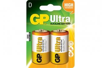 Батарейка тип D Ultra LR20 GP