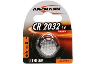 Батарейка Lithium CR 2032 (3 В, 240 мАч) Ansmann, Германия