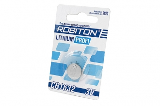 Батарейка Lithium Profi CR1632 Robiton