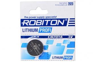 Батарейка литиевая Profi R-CR2016 (1 шт.), Robiton