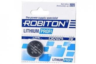 Батарейка литиевая Profi R-CR2025 (1 шт.), Robiton