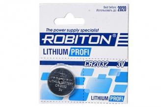 Батарейка литиевая Profi R-CR2032 (1 шт.), Robiton