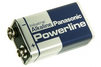 Батарейка Powerline Industrial 6LR61AD SR1, Panasonic, Япония
