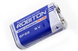 Батарейка Plus R-6F22-SR1 6F22 SR1, Robiton