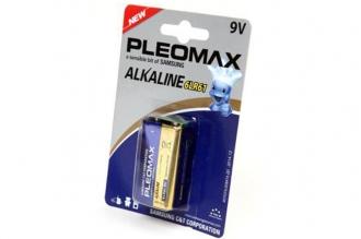 Батарейка крона Pleomax 6LR61 BL1, Samsung, Корея