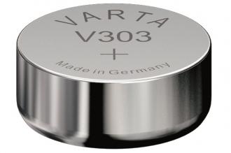 Батарейка серебряно-цинковая часовая 303, Varta