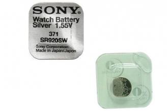 Батарейка серебряно-цинковая часовая SR920SW 371, Sony