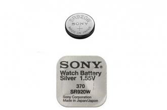 Батарейка серебряно-цинковая часовая SR920W 370, Sony