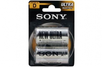 Батарейка тип D (R20) Ultra Heavy Duty (2 шт.) Sony, Япония