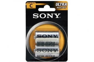 Батарейка тип C Ultra Heavy Duty (2 шт.) Sony