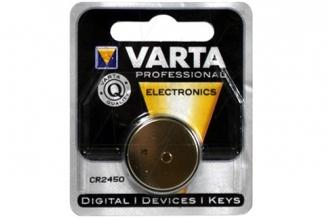 Батарейка литиевая CR2450 6450, Varta