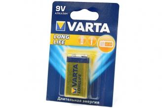 Батарейка крона Longlife 4122 6LR61 BL1, Varta, Германия