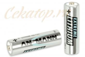Элементы питания литиевые Extreme Lithium AA Ansmann, Германия
