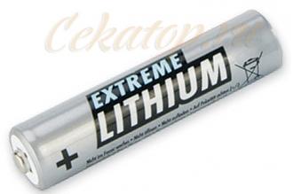 Элементы питания литиевые Extreme Lithium AAA  Ansmann