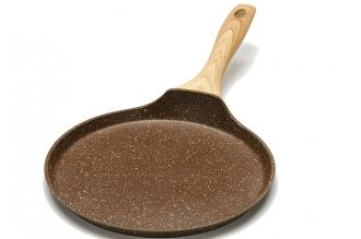 Блинница 240 мм (мраморная крошка, коричневая) 25695 Mayer & Boch