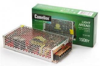Блок питания для светодиодных лент LD-01-150 12V, IP20, Camelion