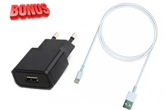 Блок питания для телефонов и планшетов USB2100/II NEW и USB-кабель с разъемом Li