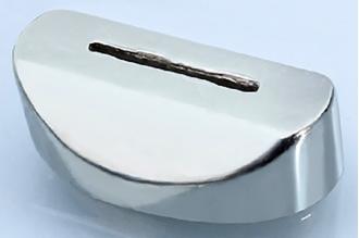 Больстер для рукояти ножа глянцевый 636 (мельхиор)