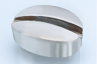 Больстер для рукояти ножа глянцевый 612 (мельхиор)