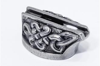 Больстер для рукояти ножа «Орнамент» 603 (мельхиор)