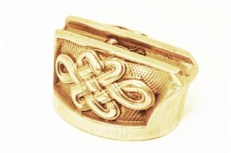 Больстер для рукояти ножа «Орнамент» 625 (латунь)