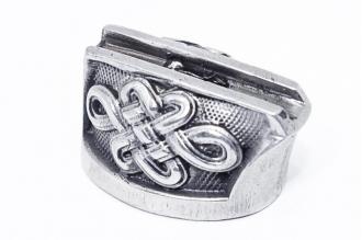 Больстер для рукояти ножа «Орнамент» 625 (мельхиор)