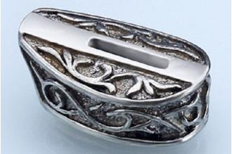 Больстер для рукояти ножа «Трилистник» 619 (мельхиор)