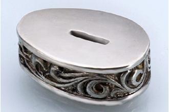 Больстер для рукояти ножа «Ветвь» 650 (мельхиор)