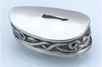 Больстер для рукояти ножа «Зигзаги» 627 (мельхиор)
