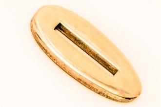 Больстер для рукояти ножа глянцевый узкий 621 (латунь)