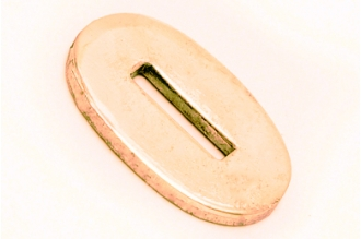 Больстер для рукояти ножа глянцевый узкий 622 (латунь)
