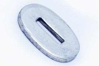 Больстер для рукояти ножа глянцевый узкий 622 (мельхиор)