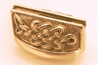 Больстер для рукояти ножа «Кельтский орнамент» 613 (латунь)