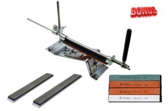 Точильный станок Ganzo Touch Pro Steel и алмазные бруски 400 и 1200