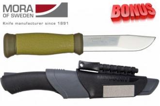 Бонус-пак: ножи Mora 2000 и Mora Bushcraft Survival