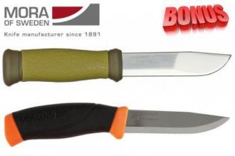 Бонус-пак: ножи Mora 2000 и Mora Companion F Serrated
