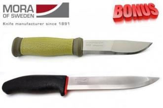 Бонус-пак: ножи Mora 2000 и Mora 731