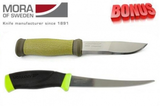 Бонус-пак: ножи Mora 2000 и Mora Fishing Comfort Fillet 155