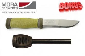 Бонус-пак: нож Mora 2000 и огниво Mora Fire Steel