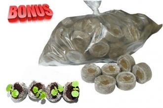 Бонус-пак: торфяные таблетки Jiffy-7 41 мм в количестве 300 шт. по спец. цене!